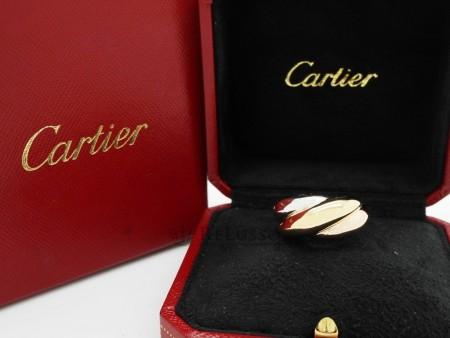 Anello Cartier a 3 ori modello Trinity foto6