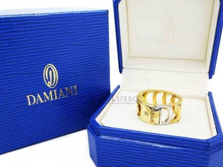 Anello Damiani collezione Damianissima in oro Giallo e Bianco con diamante foto1