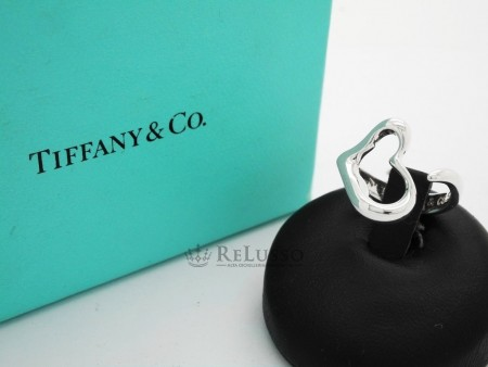 Anello Tiffany & co Open Heart di Elsa Peretti® in argento foto1