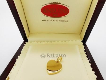 Ciondolo cuore Ansuini in oro giallo 18kt foto1