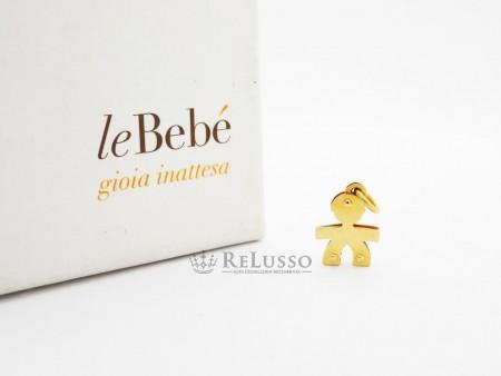 Ciondolo LeBebé bimbo mini in oro giallo 18kt foto1