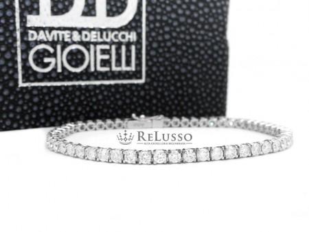 Tennis diamanti Davite & Delucchi da 5,00ct colore H foto1