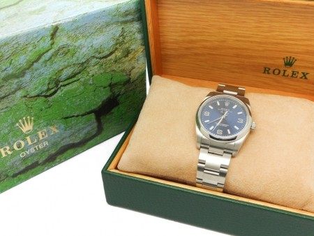 Rolex Oyster Perpetual AirKing 114200 34mm in acciaio foto1