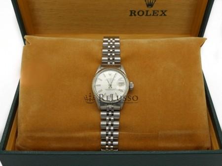 Rolex Date Lady ref. 6517 in acciaio foto1
