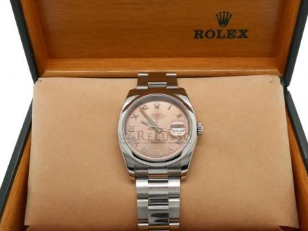 Rolex Datejust ref. 116200 in acciaio 36mm foto1