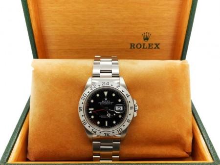 Rolex Explorer II in acciaio Ref. 16570 foto1