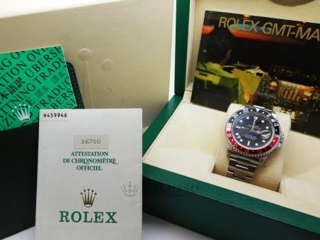Rolex GMT Master II ref. 16710 in acciaio foto1