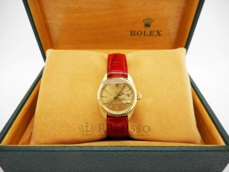 Rolex Lady Datejust in oro giallo ref. 6917 foto1