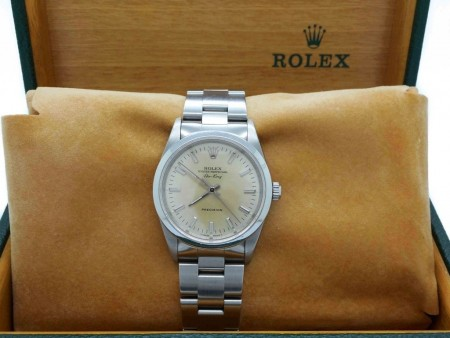 Rolex Oyster Perpetual AirKing 14000 34mm in acciaio foto1