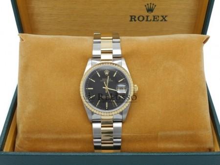 Rolex Oyster Perpetual Date ref.15223 acciaio e oro 34mm foto1