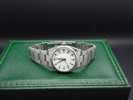 Rolex Oyster Perpetual ref. 6748 in acciaio foto1