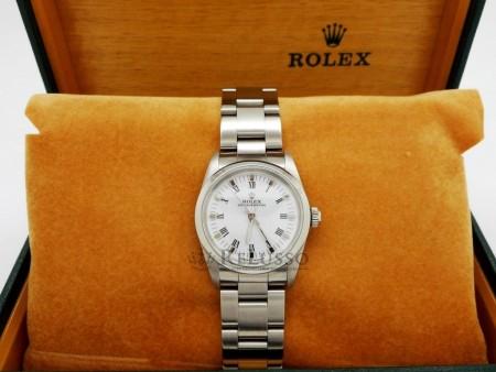 Rolex Oyster Perpetual ref. 67480 midsize in acciaio foto1