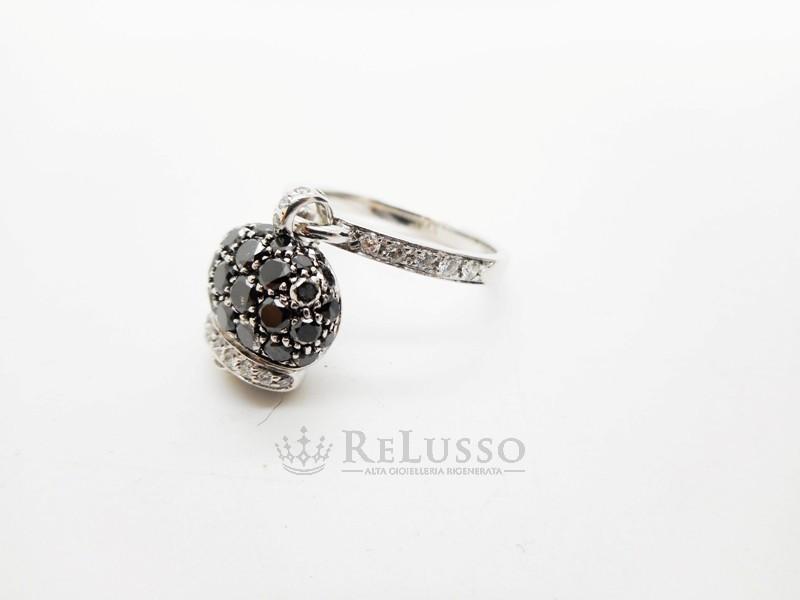 comprare nuovo seleziona per ufficiale design innovativo Anello Chantecler Campanelle in Oro Bianco, diamanti e Pavè ...