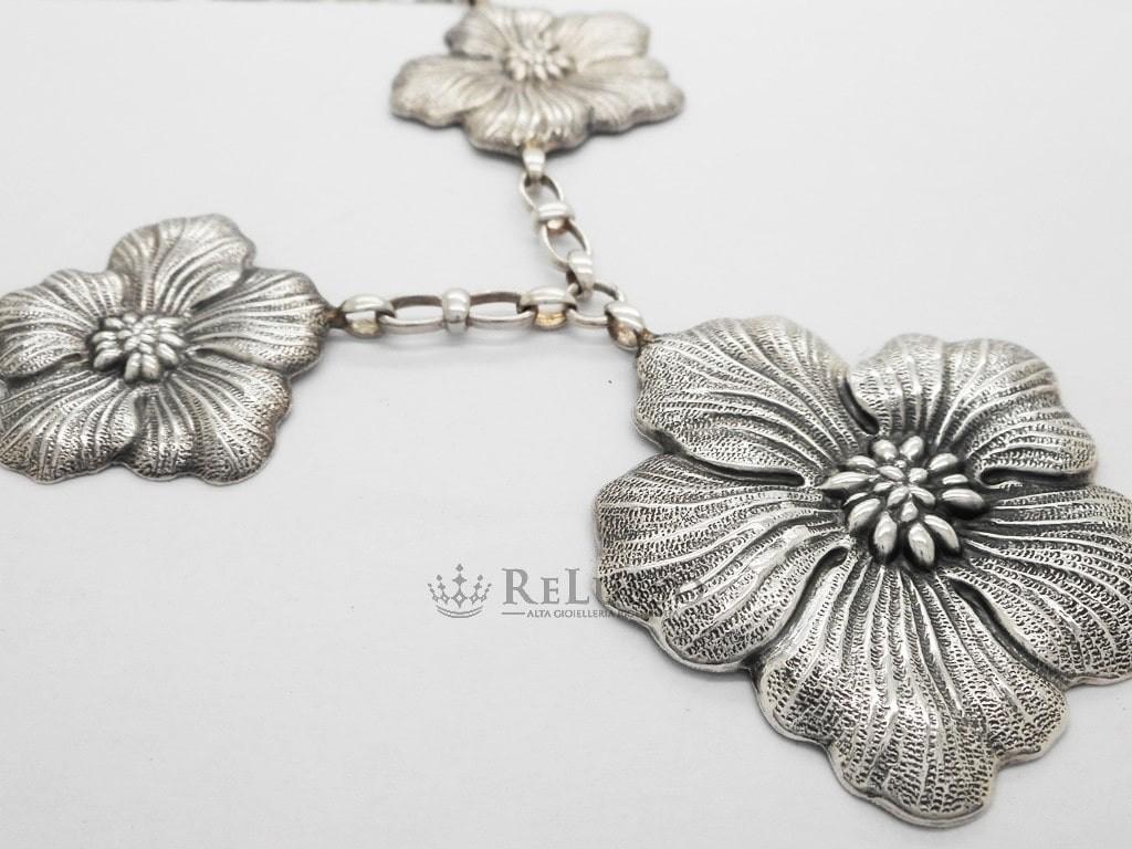 ed7c8edb2 Collana Gianmaria Buccellati collezione Gardenia in argento