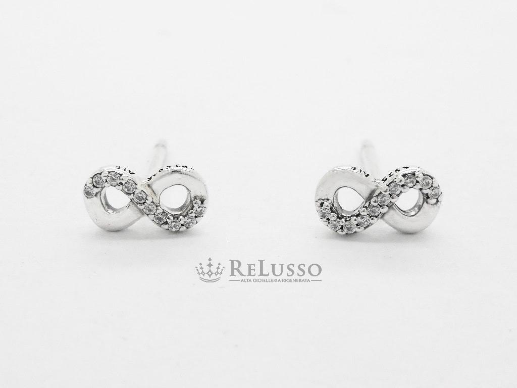 orecchini pandora argento